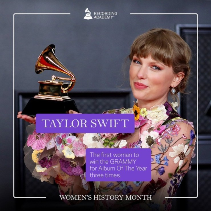 Women's History Month; Grammy And The Female Artistes That Made History 14