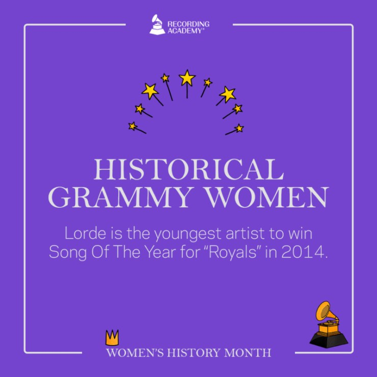 Women's History Month; Grammy And The Female Artistes That Made History 16