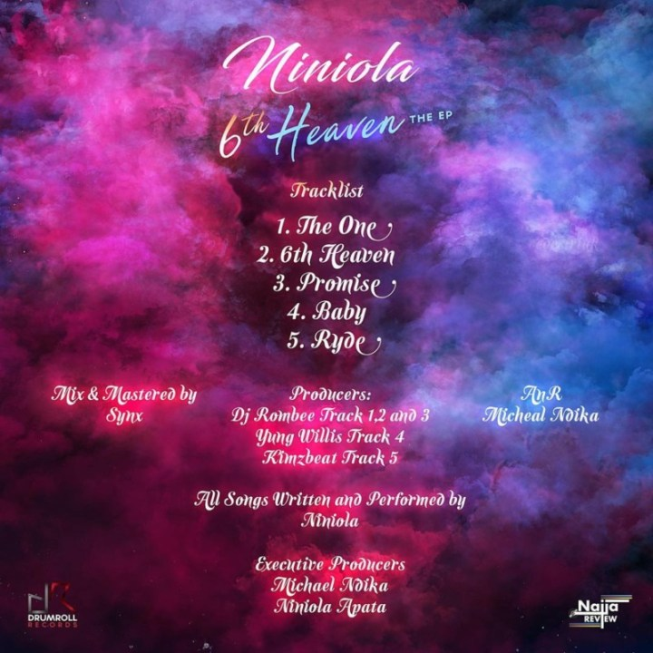 "[EP] Niniola – ""6th Heaven"" The EP 17"