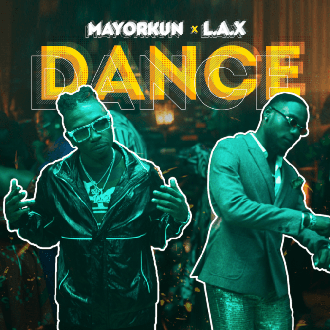 Mayorkun L.A.X Dance (Oppo)