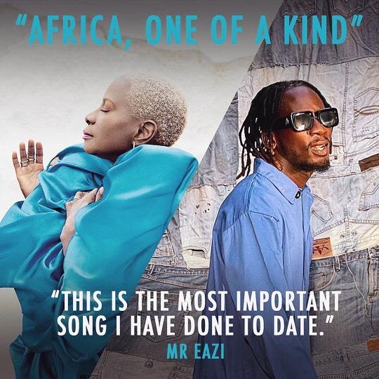 Angelique Kidjo Africa, One Of A Kind Mr Eazi