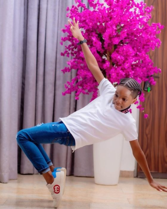 Wizkid's First Son, Boluwatife Set 'To Take Over The World' With The Release Of His First Single 1