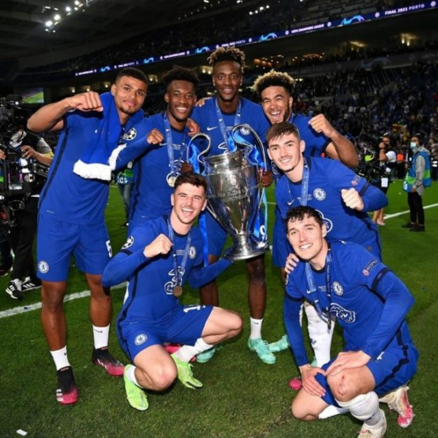 Chelsea Players Celebrates Their Champions League Victory With Olamide & Omah Lay's Hit Song, 'Infinity' | Watch Video 1