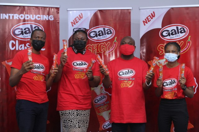 UAC Foods Limited unveils new Gala variants – GALA SPICY and GALA CLASSIC. 1