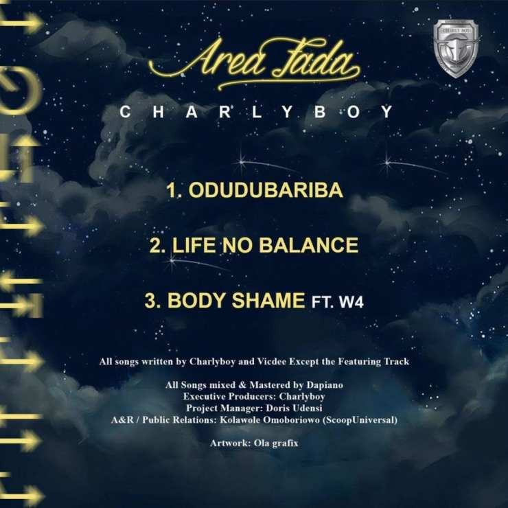 """[EP] Charly Boy – """"Area Fada"""" The EP ft. W4 15"""