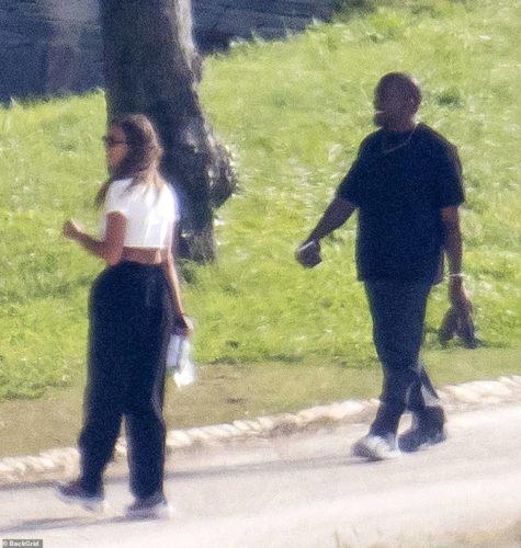 Kanye West & Irina Shayk Return To The U.S Together After Birthday Romantic Getaway 18