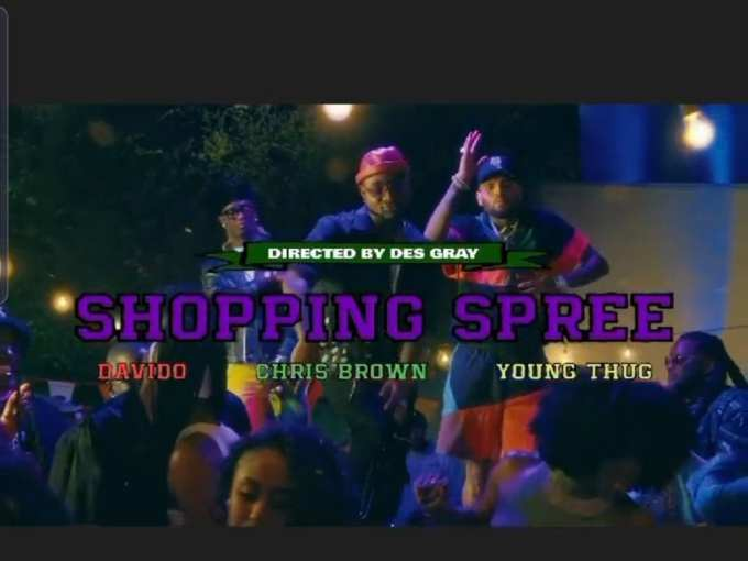Davido Chris Brown, Young Thug Shopping Spree LYRICS