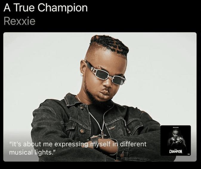 Rexxie A True Champion Album Review
