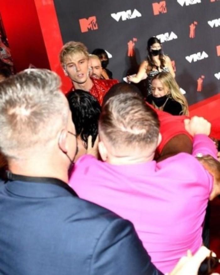 MTV VMAs 2021: Machine Gun Kelly And Conor McGregor Engage In Brawl Last Night || See Videos 7