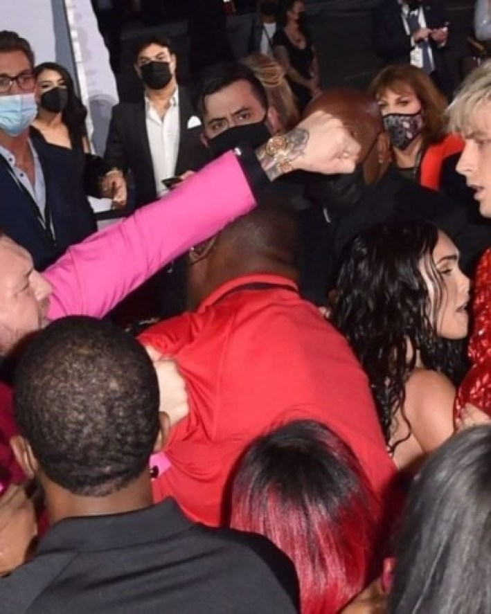 MTV VMAs 2021: Machine Gun Kelly And Conor McGregor Engage In Brawl Last Night || See Videos 9