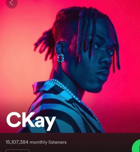 CKay Surpasses 17.3 Million Monthly Listeners, Now No. 1 On Spotify 22