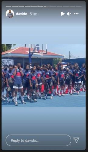Davido Set To Build Basketball Courts Across Africa 4