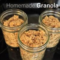 Homemade DIY Granola