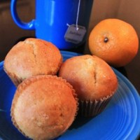 Orange Muffins and Earl Grey