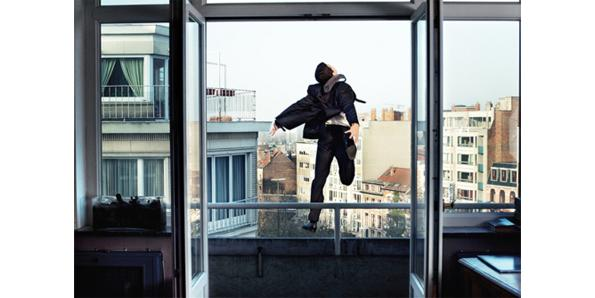 Jumping out of a ten story window