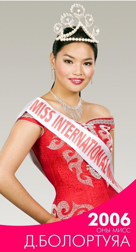 Мисс Монголия. Все победительницы конкурса (2004-2019)