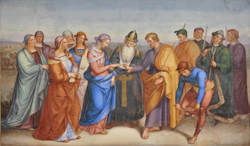 Картинки обручение марии и иосифа, поздравления юбилей лет