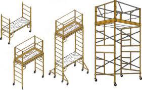 Rental scaffolding