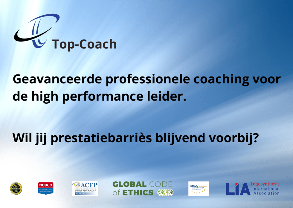 Top-Coach | Executive Coaching | Leiderschapsontwikkeling | Prestatieverbetering | Burn-out