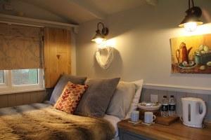 Florence Shepherds Hut Interior