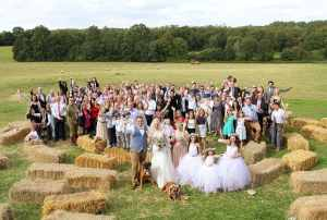 Top Farm Festival Wedding Norfolk