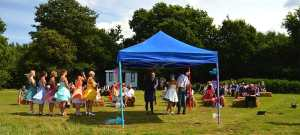 Top Farm Festival Wedding Norfolk