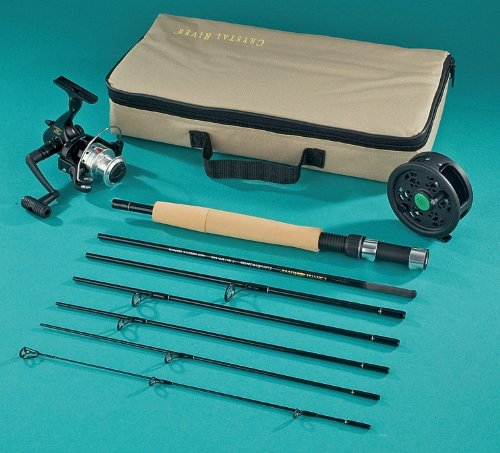 Crystal River Executive Travel Pack – Spin/Fly Fishing