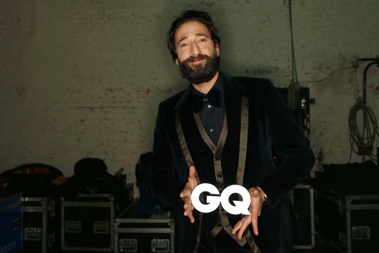 GQ Men Of The Year Award 2014 – Backstage