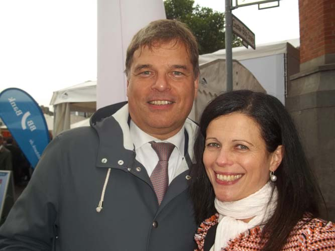 Dr. Andreas Eckert und Paola Eckert