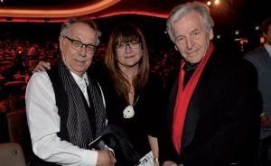 Berlinale Chef Dieter Kosslick, Regisseurin Isabel Coixet und der Regisseur Constantin Costa Gavras – er hielt die Laudatio auf Armin Müller- Stahl.