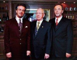 Drei Generationen: Andreas Boehlke, Hans Boehlke und Peter Boehlke