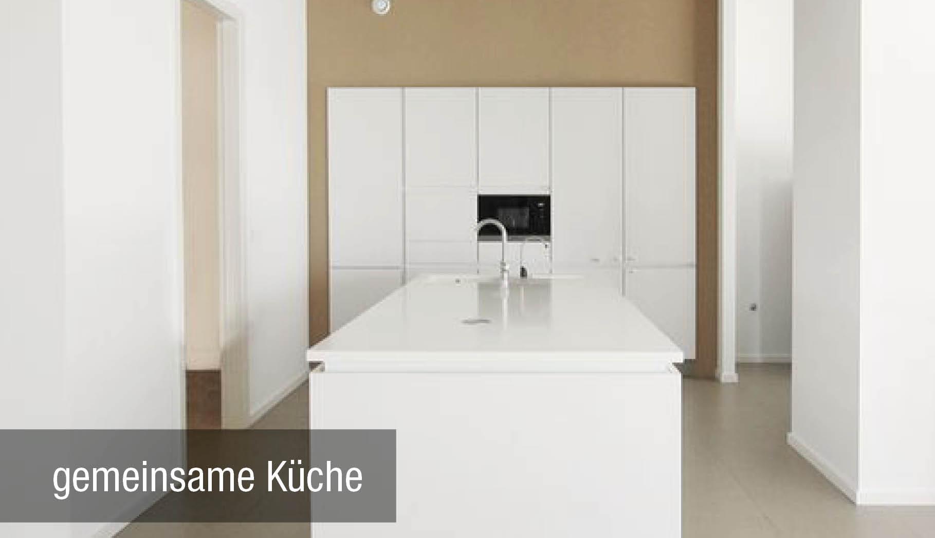 Neubau gemeinsame Küche