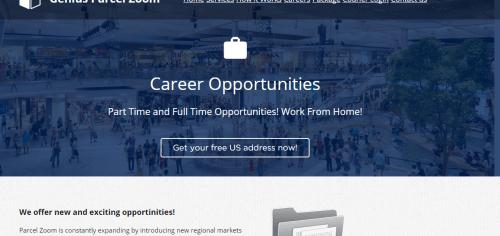 Genius Parcel Zoom-Genius4all.com Job Scam