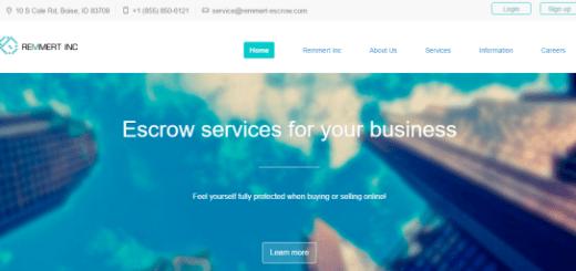 Remmert-Escrow.Com And Remmert-Defence.Com Employment Scam