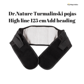 Dr.Nature Turmalinski pojas High line 125 cm