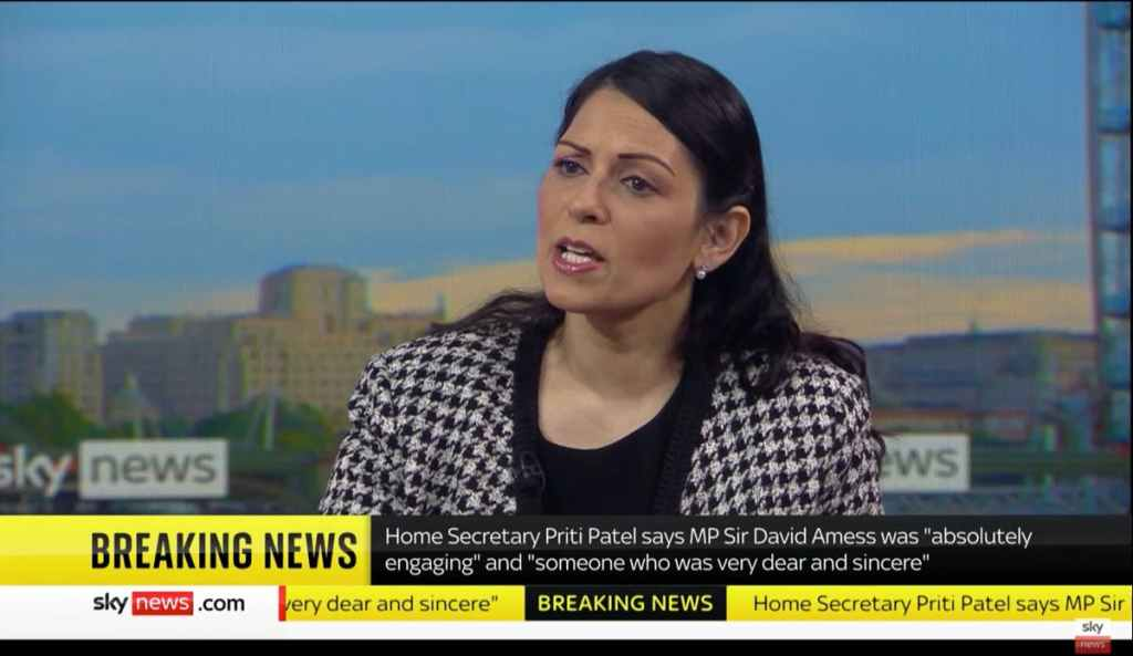 Priti Patel considering removing right to anonymity on social media to stop 'relentless' abuse of MPs