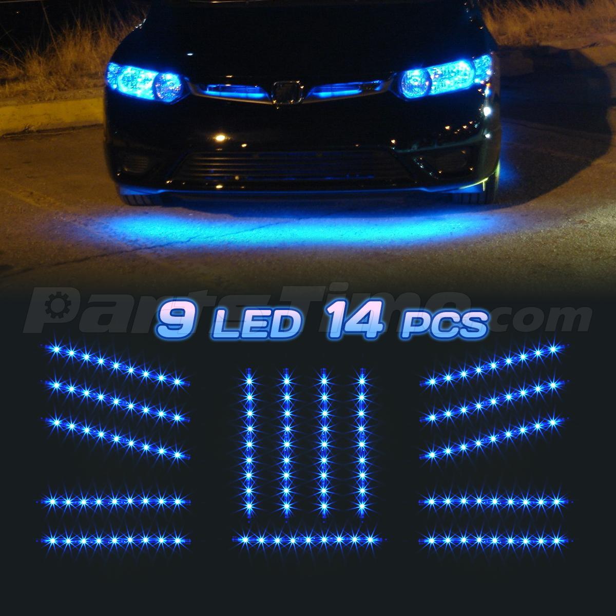 Blue Led Cab Light Bulbs