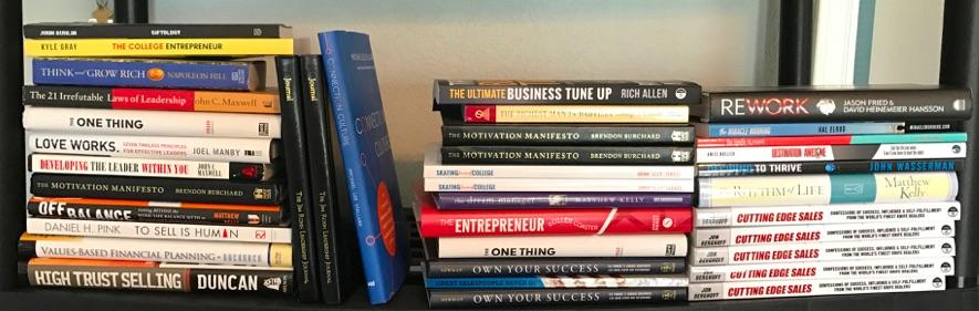 Josh Mueller's Bookshelf
