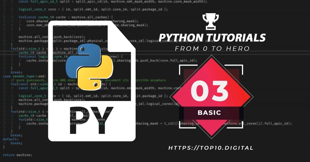 Python Complete Series – 03