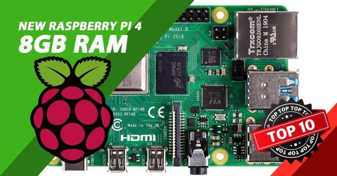 new raspberry pi 4, New Raspberry Pi 4 8GB RAM, PROS and CONS, Top10.Digital