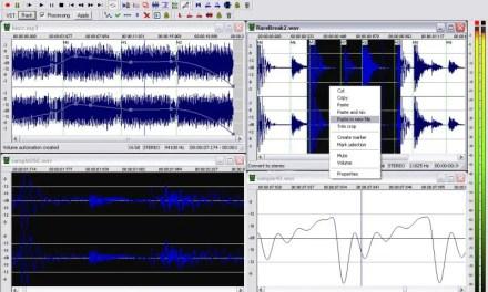 Wavosaur-An Amazing Free Audio Editor