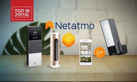 Netatmo HomeKit Security Camera and Video Doorbell