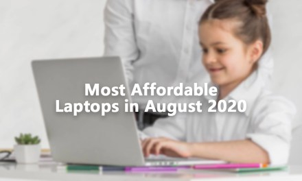 Top 10 Most Affordable Laptops in August 2020