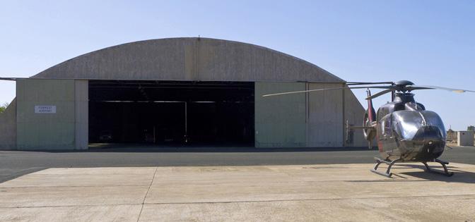 Forrest hangar