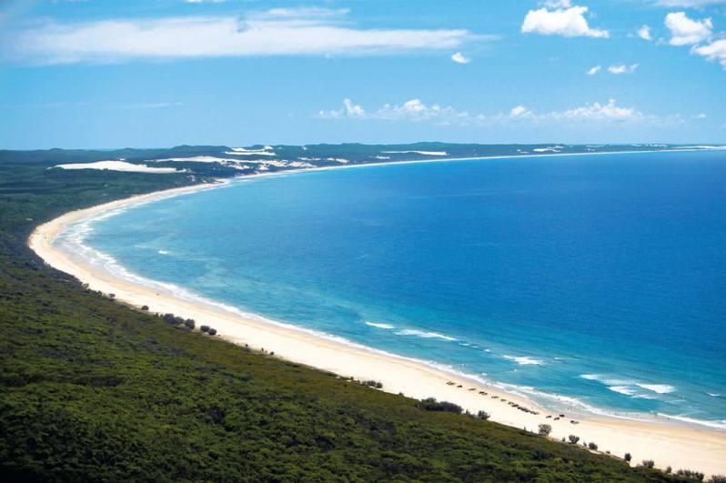 Fraser Island aerial
