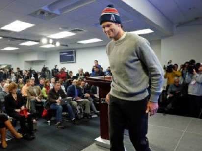 Tom Brady - Presser