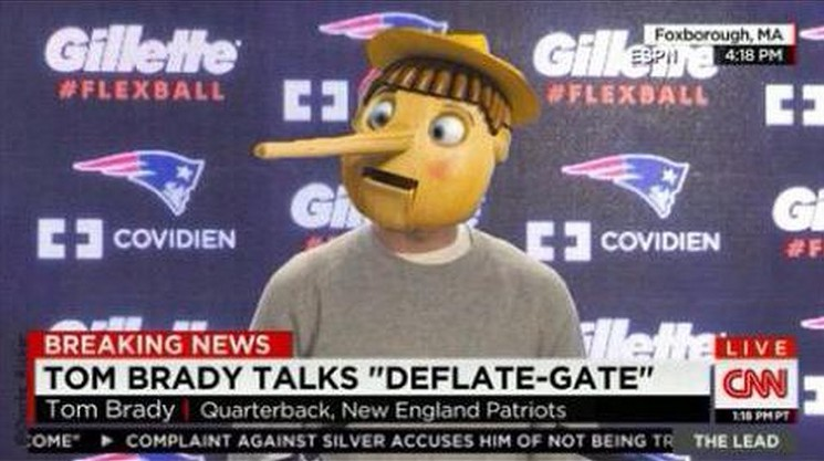 Deflategate - Tom Brady: BUSTED!