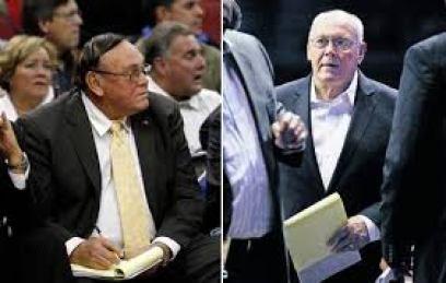 Russell Cross Coach Gene Keady Before and After