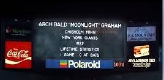 moonlight graham
