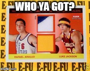 Rafael Araujo / Luke Jackson: #5 NBA Draft Bust